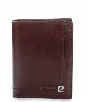 Pánská kožená peněženka Pierre Cardin čokoláda