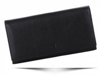 Dámská kožená peněženka XL Pierre Cardin čokoládová