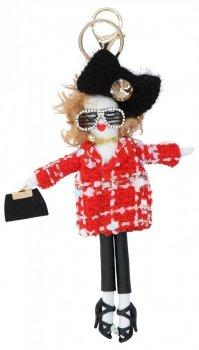 Přívěšek ke kabelce Alice Doll Červená