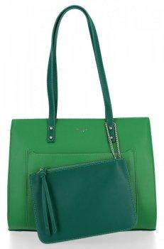 Klasické Dámské Kabelky David Jones Zelená