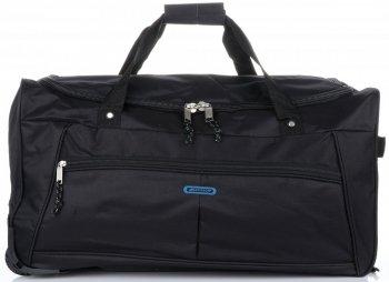 Cestovní taška na kolečkách s teleskopickou rukojetí renomované firmy Madisson černá