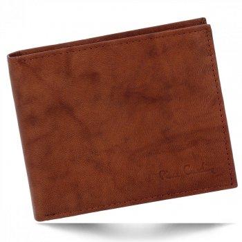 Elegantní Pánská Kožená Peněženka Pierre Cardin Hnědá
