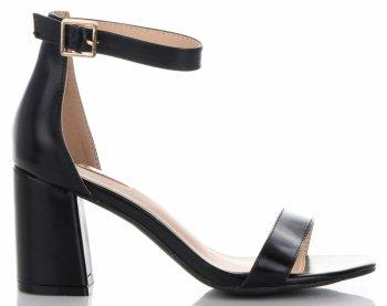 Elegantní Dámské Sandály na podpatku Bellucci Černé