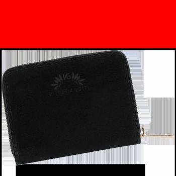 Vittoria Gotti Dámská Kožená Peněženka Made in Italy černá