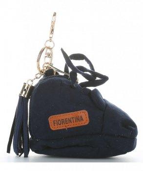 Přívěšek ke kabelce Bota Fiorentina tmavě modrý