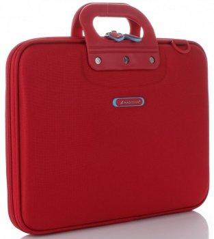 Prostorná taška Madisson Laptop 16'' červená