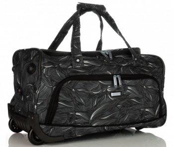 Cestovní taška na kolečkách s teleskopickou rukojetí renomované firmy Madisson Multicolor - Černá