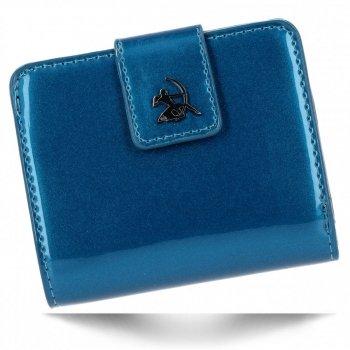 Elegantní Dámská Peněženka Diana&Co Pouzdro na Karty Modrá