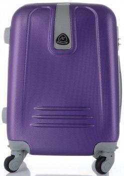 Palubní kufřík Lumi 4 kolečka Fialový