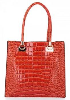Klasická Dámská Kabelka Grace Bags Oranžová