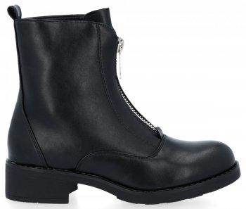 Černé univerzální módní kotníkové boty Noah