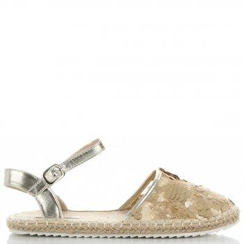 dámské sandály Zlaté