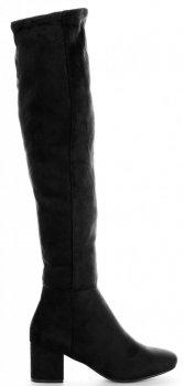 Klasický Dámské Kozačky Bellucci černé
