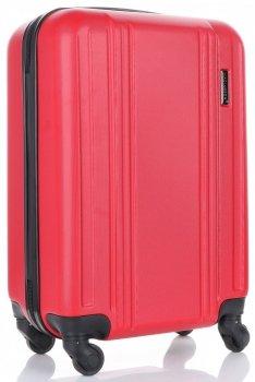 Palubní kufřík 4 kolečka značky Madisson červená