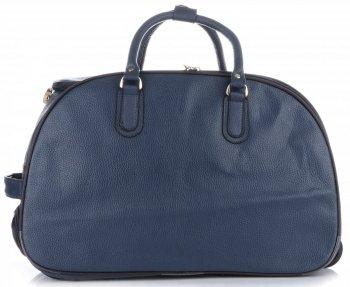 Cestovní taška na kolečkách s výsuvnou rukojetí Or&Mi tmavě modrá