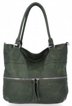 Univerzální Dámská Kabelka Herisson Shopper Bag Zelená