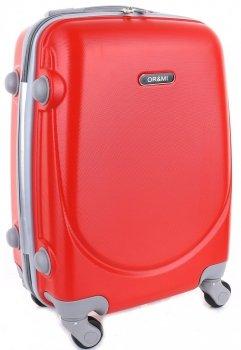 Palubní kufřík Ultra Light Or&Mi 4 kolečka červená