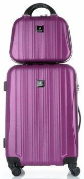 Kufry renomované firmy Madisson Sada 2 v 1 fialová