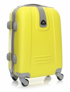 Palubní kufřík Or&Mi 4 kolečka žlutý