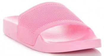 Uniwersalne Klapki Damskie firmy Ideal Shoes Różowe