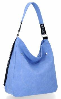 Uniwersalne Torebki Damskie do noszenia na co dzień firmy Roberto Ricci Niebieska