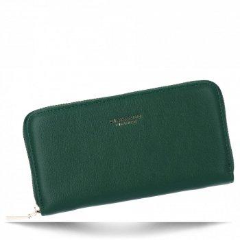 Uniwersalne Portfele Damskie XL firmy Diana&Co Zielony