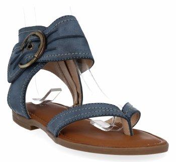 Granatowe uniwersalne sandały damskie firmy Lady Glory