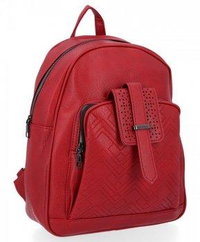 Uniwersalne Plecaczki Damskie Herisson Czerwony