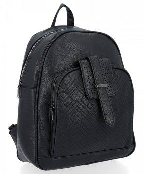 Uniwersalne Plecaczki Damskie Herisson Czarny