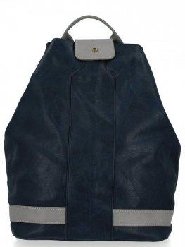 Uniwersalny Plecak Damski XXL firmy Diana&Co Granat