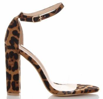 Modne Sandały na Obcasie firmy Bellucci Brązowe