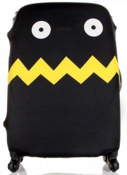 Pokrowiec na Walizkę firmy Snowball w rozmiarze L w modne wzory Czarny