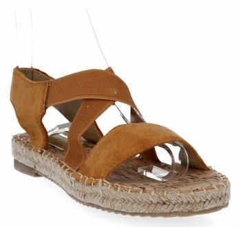 Camelowe sandały damskie firmy Lady Glory