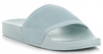 Uniwersalne Klapki Damskie firmy Ideal Shoes Miętowe