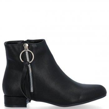 Elegantné dámske členkové topánky Bellucci čierny