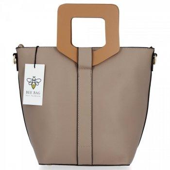 BEE BAG módna dámska taška Venezia béžová taška