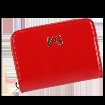 Exkluzívne Dámske peŘaženky Vittoria Gotti vyrobené v Taliansku Červená