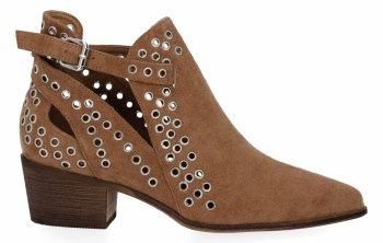 Camel Dámske podpätky členkové topánky Bellucci