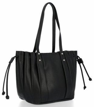 Módne dámske tašky s kozmetickou taškou David Jones čierny