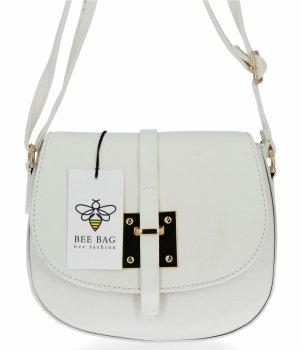 BEE Bag elegantná dámska taška na posol Lucia Biela