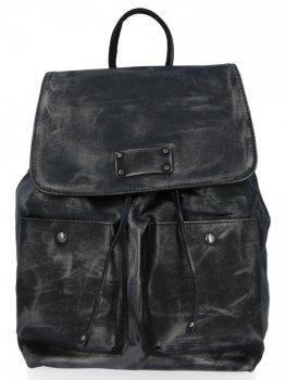 Stylowe Plecaczki Damskie na co dzień firmy Diana&Co Czarny
