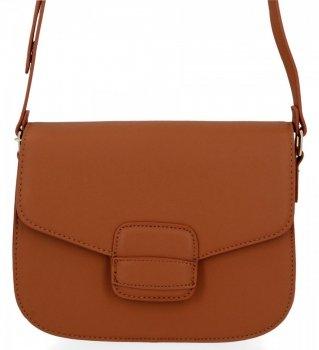 Elegantná dámska taška na messenger pre všetky príležitosti od Herisson hnedý