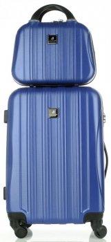 Kufre slávnej spoločnosti Madisson set 2v1 modrý