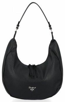 David Jones značkové univerzálne dámske ležérne tašky čierne
