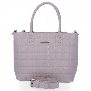David Jones Elegantná taška Dámska Prešívaná vresová taška