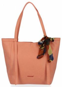 David Jones univerzálna Dámska nákupná taška s koralovým šálom