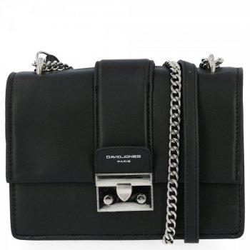 Elegantné dámske tašky messenger od David Jones čierny