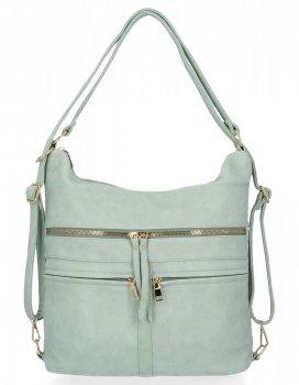 Univerzálne dámske tašky XL S funkciou batohu Herisson Mint