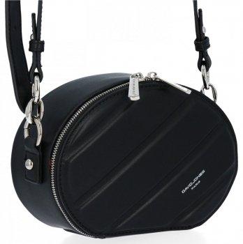 Módne dámske tašky pre všetky príležitosti David Jones čierny