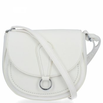 BEE Bag elegantná dámska taška na Messenger Sara biela